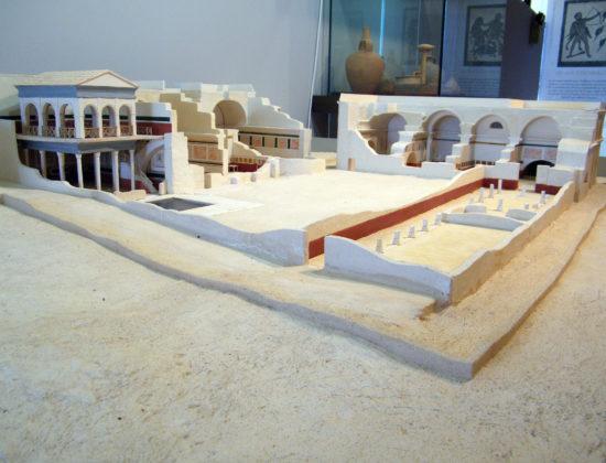 Santuario y termas romanas de Mura