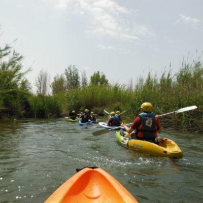 Descenso en kayak de 5 km por el Túria