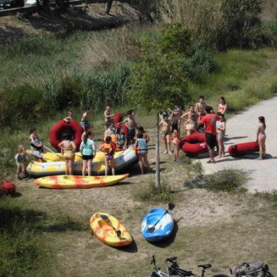 Iniciación a los deportes de aventura de tierra y agua
