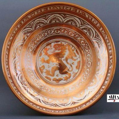 Arturo Mora -La cerámica de reflejo metálico de Manises