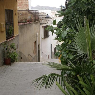 Calle de la escalera