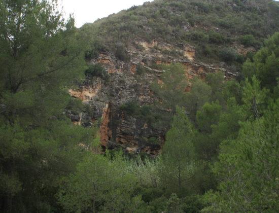 Ruta corta cueva La Pedrera