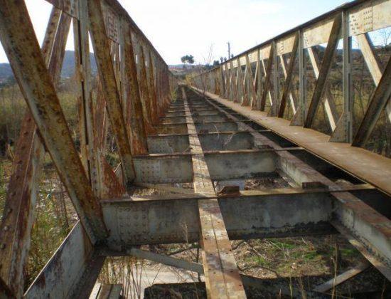 Puente ferroviario del siglo XIX